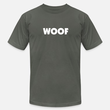 Bear Woof BearTrack - Men's  Jersey T-Shirt
