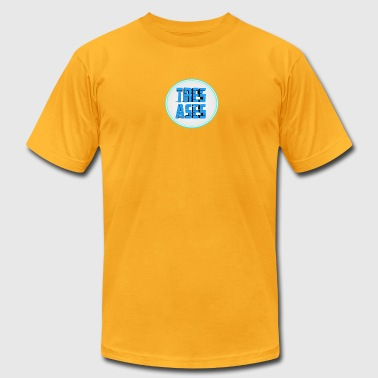 tres ases - Men's T-Shirt by American Apparel