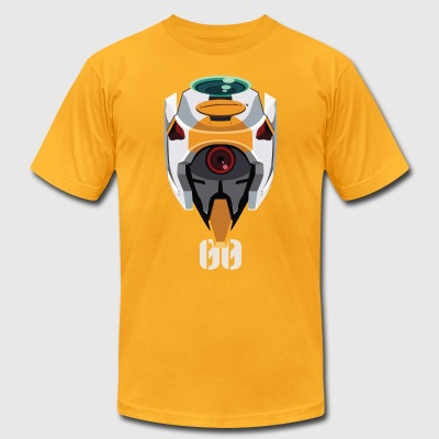 EVA 00 Head - Men's T-Shirt by American Apparel