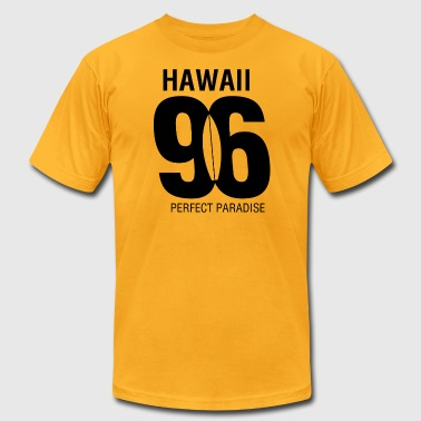 Hawaii 96 perfect paradise - Men's Fine Jersey T-Shirt