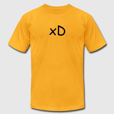 xD Shirt - Men's T-Shirt by American Apparel