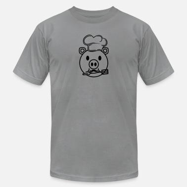 Head Cook face head cook cooking delicious hunger grilling c - Unisex Jersey T-Shirt