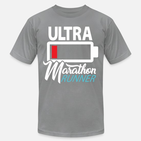 Ultramarathon T-Shirts - Ultramarathon Runner - Premium Design - Men's Jersey T-Shirt slate
