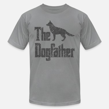 The Dogfather German Shepherd The Dogfather German Shepherd Dog, funny gift idea - Men's Jersey T-Shirt