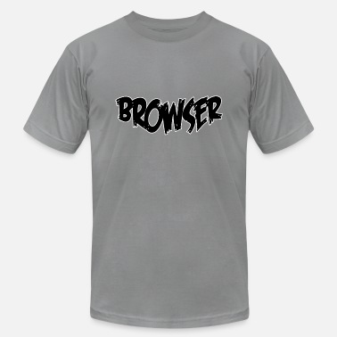 Browser Game Browser - Unisex Jersey T-Shirt