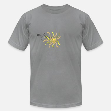 Sunshine #sun - Men's Jersey T-Shirt