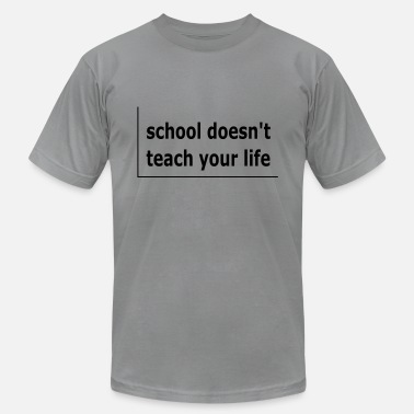 School is bad - Men's Jersey T-Shirt