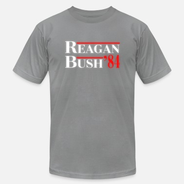 Anti Bush Reagan Bush 84 - Men's  Jersey T-Shirt
