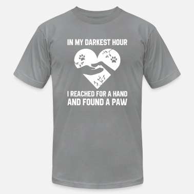 Darkest Hour In My Darkest Hour I Reached For A Hand And Found - Men's  Jersey T-Shirt