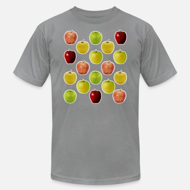 Tasty All Kinds Of Apples - Unisex Jersey T-Shirt