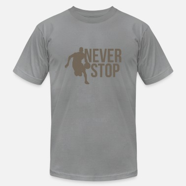 Football Never Stop Never Stop - Men's  Jersey T-Shirt