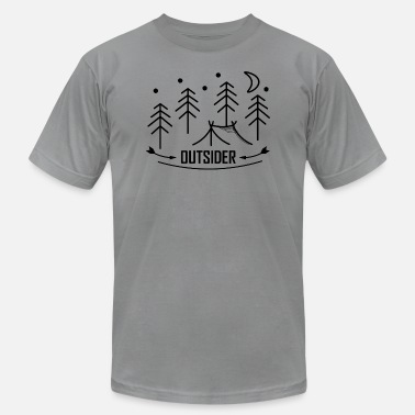 Outdoor Outsider - Outdoor - Adventure - Men's  Jersey T-Shirt
