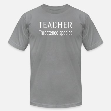 Threatened teacher threatened species - Men's Jersey T-Shirt