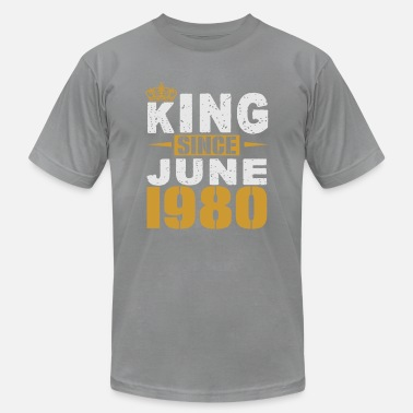 King King Since June 1980 - Unisex Jersey T-Shirt
