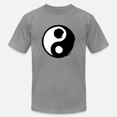 Yin Yang opposites attract each other - Men's  Jersey T-Shirt