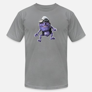 Frog Prince purple frog - Men's Jersey T-Shirt