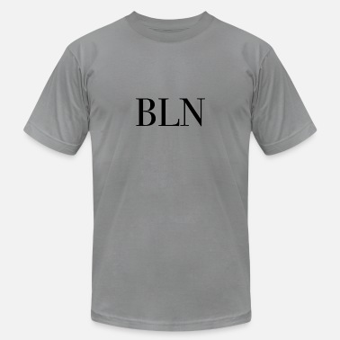 Bln BLN Berlin Capital Germany Mother City bln - Men's  Jersey T-Shirt