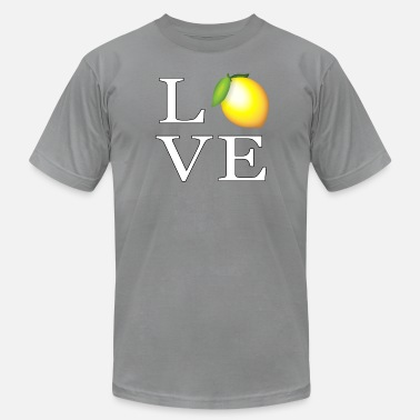 Whatsapp Love Lemons Fruits Vegan Veggie Smiley Whatsapp - Men's  Jersey T-Shirt