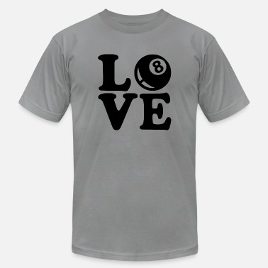 Kö love billard - Men's Fine Jersey T-Shirt