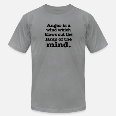 Anger Anger is a wind - Men's Jersey T-Shirt