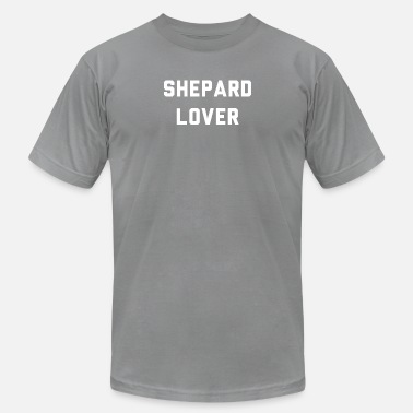 Shepard Life Is Better With German Shepards - Men And Wome - Men's Fine Jersey T-Shirt