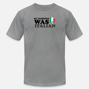 Funny Italian St Patrick Was Italian Day Funny for Men Women - Men's Jersey T-Shirt