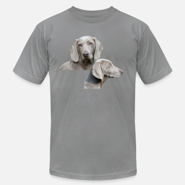 Weimaraner Weimaraner dog - Men's Jersey T-Shirt