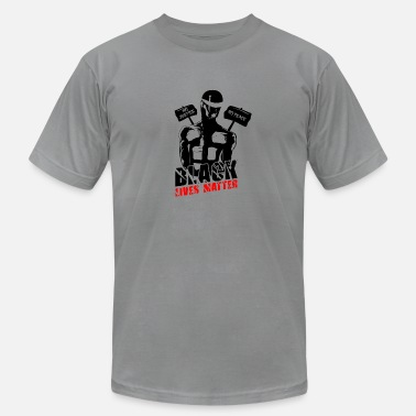 Usa Police Black Lives Matter - Men's  Jersey T-Shirt
