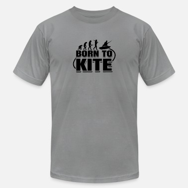 Boarding Born to Kite - Unisex Jersey T-Shirt