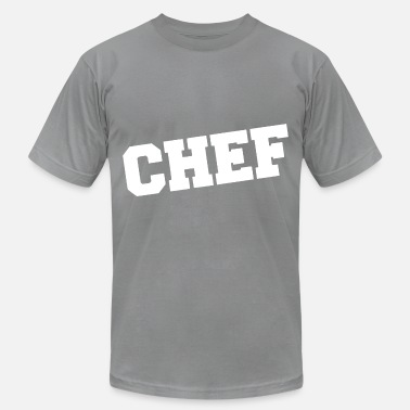 Firma weird chef white - Men's  Jersey T-Shirt