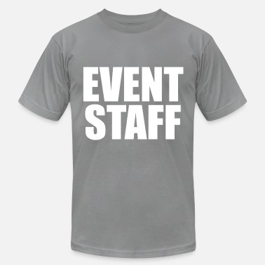 Staff Bull EVENT STAFF - Men's Jersey T-Shirt