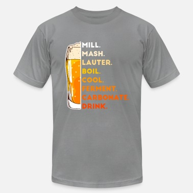 Brew Craft Beer Lover Funny Home Brewing Drinking Gift - Unisex Jersey T-Shirt