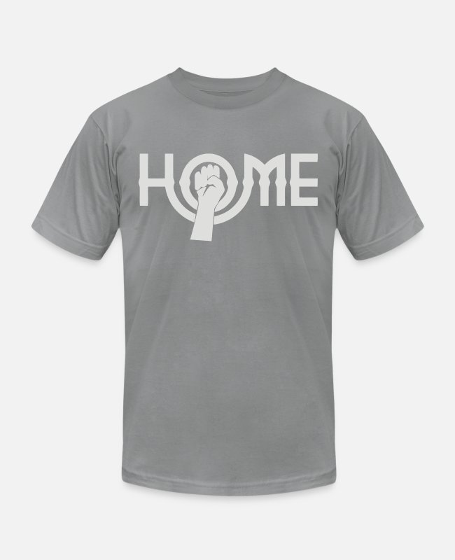 Homepage T-Shirts - Home As Worn - Unisex Jersey T-Shirt slate