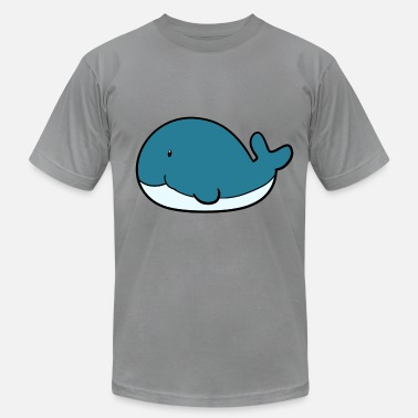 Little whale - Men's  Jersey T-Shirt