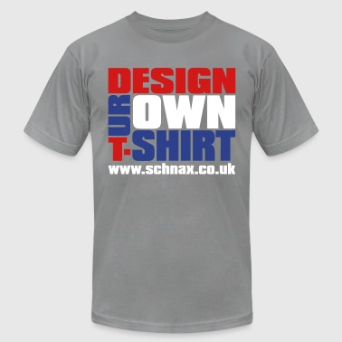 Design Your Own Shirt - Men's Fine Jersey T-Shirt