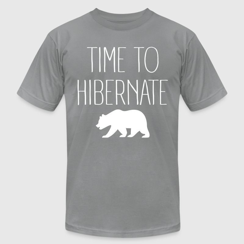 Time To Hibernate - Men's Fine Jersey T-Shirt