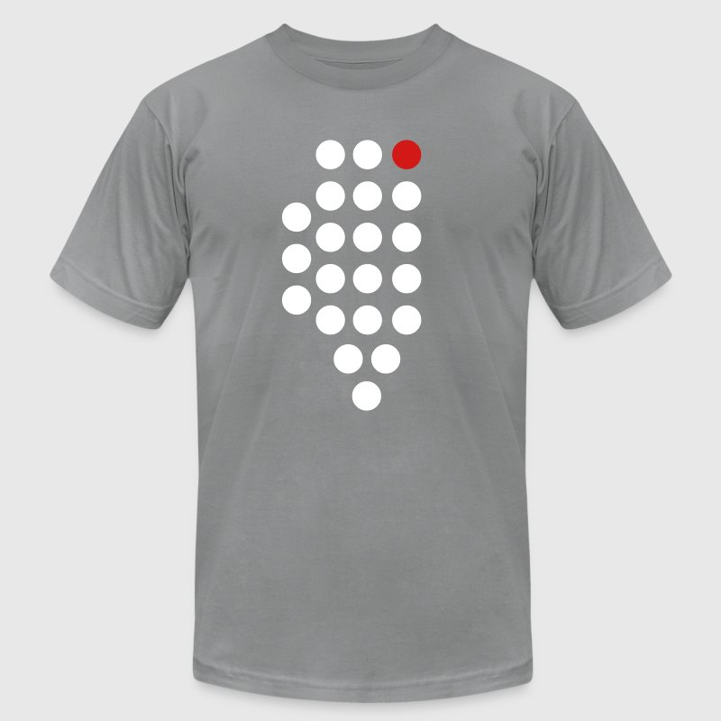 Chicago, IL - Abstract Dots - Men's Fine Jersey T-Shirt