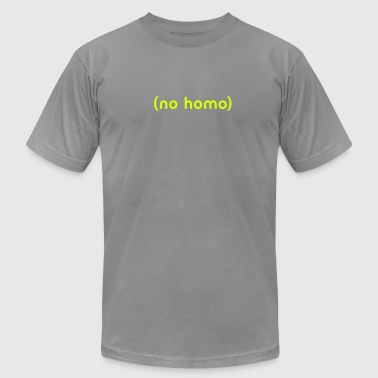 (No Homo) - Men's Fine Jersey T-Shirt