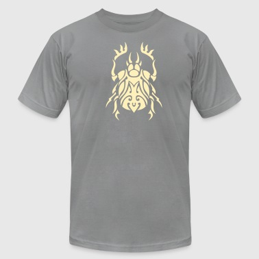 Beetle Tribal Tattoo 3 - Men's Fine Jersey T-Shirt