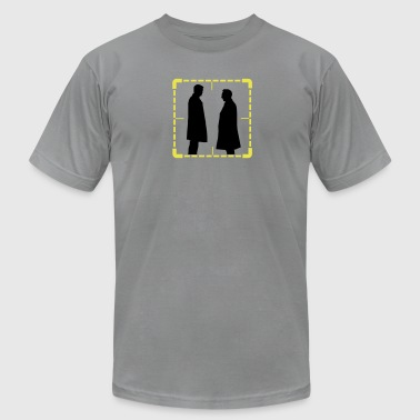 finch reese reticle - Men's Fine Jersey T-Shirt