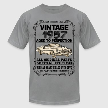 VINTAGE 1957-AGED TO PERFECTION - Men's Fine Jersey T-Shirt