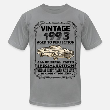 1993 Aged To Perfection VINTAGE 1993-AGED TO PERFECTION - Men's  Jersey T-Shirt