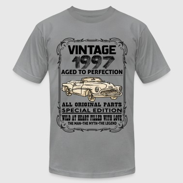 VINTAGE 1997-AGED TO PERFECTION - Men's Fine Jersey T-Shirt