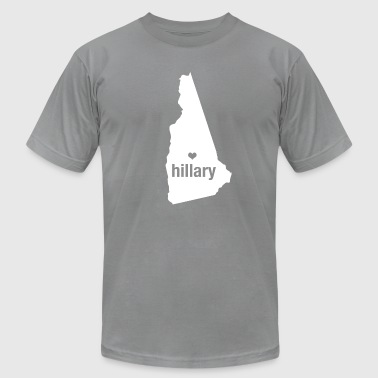 New Hampshire Loves Hillary Clinton  - Men's Fine Jersey T-Shirt