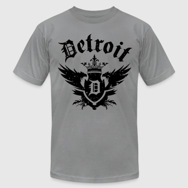 Detroit Swag DETROIT ROYALTY - Men's Fine Jersey T-Shirt