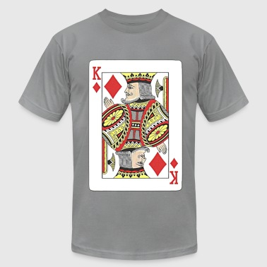 King of diamonds. - Men's Fine Jersey T-Shirt