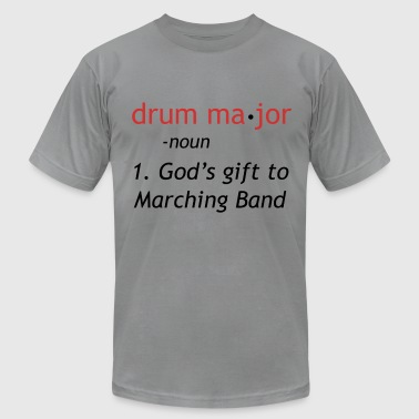 Drum-major Definition of a Drum Major - Men's Fine Jersey T-Shirt