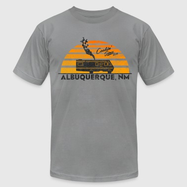 Cooking in New Mexico - Men's Fine Jersey T-Shirt
