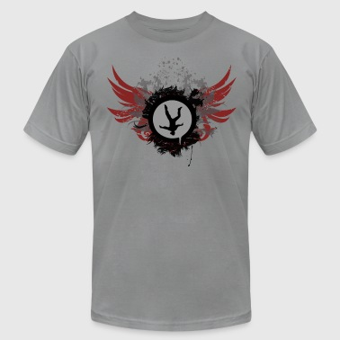 Freeflyer With Wings - Men's Fine Jersey T-Shirt
