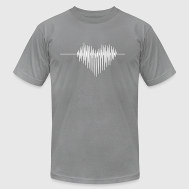 Cardiac Rhythm02 - Men's Fine Jersey T-Shirt